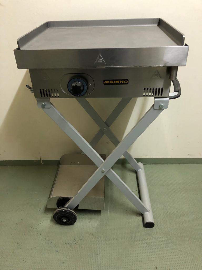 Barbecue Gaz Sans Plancha plancha gaz 50cm acier alimentaire (sans chariot)